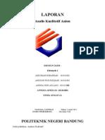 Analisis Kualitatif Anion (B)
