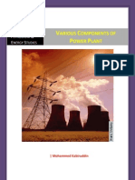 Various Components of Thermal Power Plant - Basics