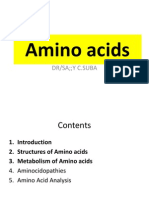 6. Amino Acids (Part I)