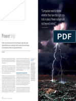 Power Blackout Risks Article