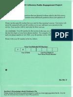CDC - H1N1Post survey