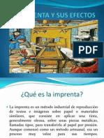 Imprenta y Sus Efectos - Unides