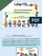 Presentacion de CaYmbios de Pa 2012-2013