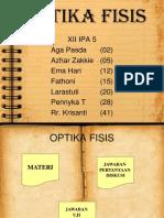OPTIKA FISIS