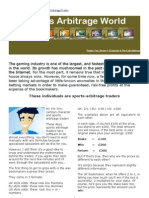 Sports Arbitrage Guide 04 - The Calculations