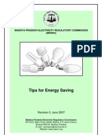MPERC Tips Energy Conservation