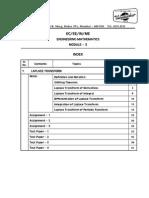 Mod3 Engineering Maths