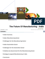 Indian Economy and Manufacturing by Arvind Goel