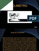 calibracion eclimetro