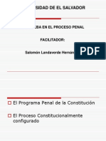 Derecho Probatorio y Actos de Investigacion Que Limitan Derechos Fundamentales UES-2011-ULTIMO