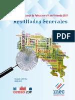 Resultados Generales Censo 2011