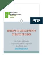 03-04 Sistemas de Gerenciamento de Banco de Dados