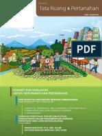 Buletin TRP. Konsep dan Kebijakan Untuk Tata Ruang dan Pertanahan. Edisi I Tahun 2010