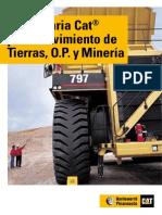 Maquinaria CAT Para Movimiento de Tierras, Op y Mineria