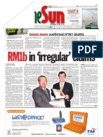 thesun 2009-08-11 page01 rm1b in irregular claims