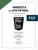 Minnesota State Patrol Crash Report