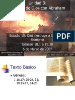 10 Dios Destruye a Sodoma y Gomorra