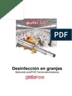 Desinfección en Granjas