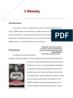 childhood obesity- opinion paper final draft