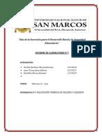 Informe de Dilatacion Termica de Solidos y Liquidos