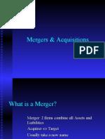 Mergers Comp