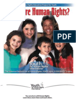 Human Rights Booklet From Youth for Human Rights Internationsl