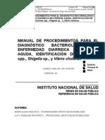 INAS MANUAL DE PROCEDIMIENTOS PARA EL DIAGNÓSTICO BACTERIOLÓGICO