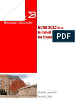 BCNE Nutshell - Brocade Certified Network Engineer Exam Topics