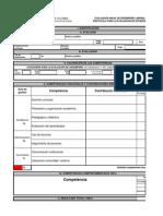 Protocolo Para La Evaluacion de Docentes