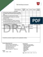 trio workshop evaluation draft