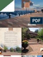 Belden Brick Pavers Brochure