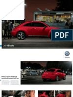2014 Volkswagen Beetle Brochure
