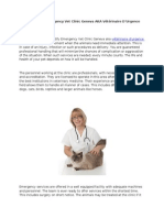 Veterinaire D'Urgence Geneve