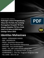 Hubungan Antara Pengetahuan Si 6450405229