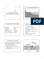 Continental Crust Evolution Geology Earth