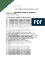 Lista de Enfermedades Profesionales 1