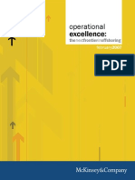 Operations Excellene Report 2007