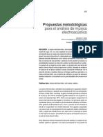 Propuestas Metodologicas para el Análisis de la Música Electroacustica