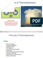 First Law Thermo