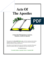 Acts Study Guide