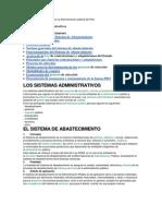 Sistemas de abastecimiento en la Administración pública del Perú