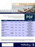 Maldives Specials Sa Holidays
