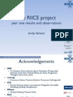 WebGIS of RIICE