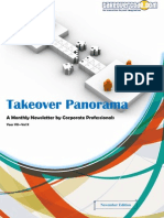 Takeover Panorama November 2013