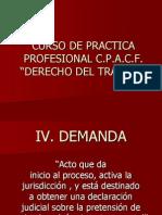 Cpp - Derecho Del Trabajo - Dra. Vega - Demanda