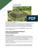 Asal Usul Sejarah Candi Borobudur