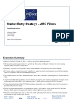 Deloitte Maverick - ABC Filter Entry Strategy