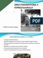 Dezvoltarea Neuropsihica a Anteprescolarului