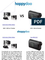 Sony VS Go Pro Comparar Camaras de Acción.