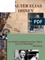 Walter Elias Disney as a leader
